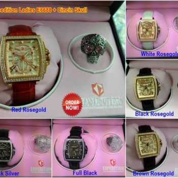 jam tangan expedition e6688 original