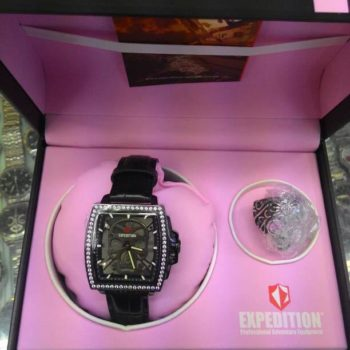 jual jam expedition e6688 full black