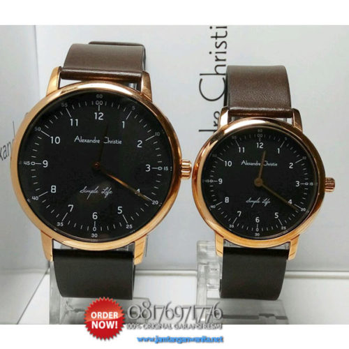 jam tangan couple alexandre christie ac8470