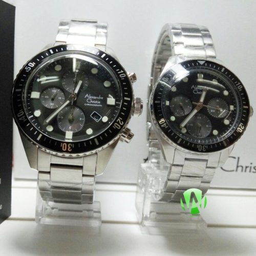 jam tangan couple alexandre christie ac6442