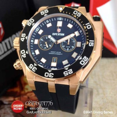jam tangan expedition e6641 original