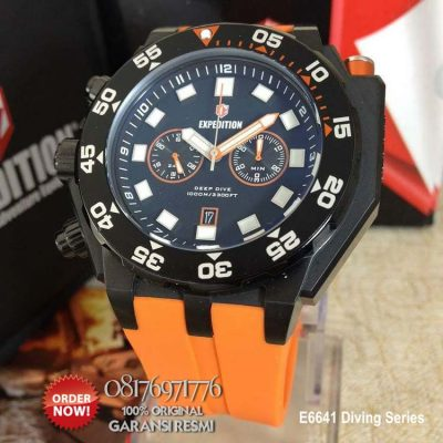 jam tangan diver expedition e6641
