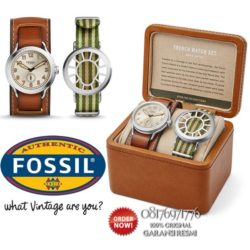 jam tangan fossil LE1040 set limited edition