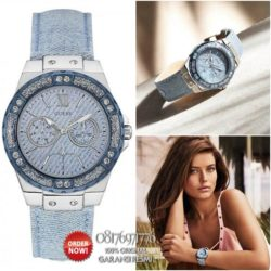 jam tangan denim guess w0775l1