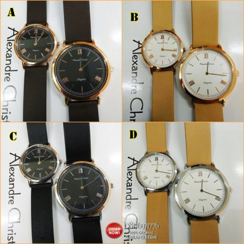 jam tangan couple alexandre christie ac8471