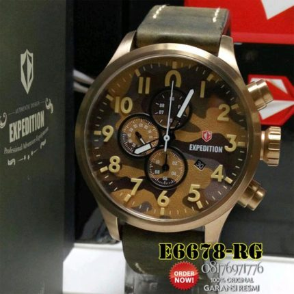 jam tangan army expedition e6678 original