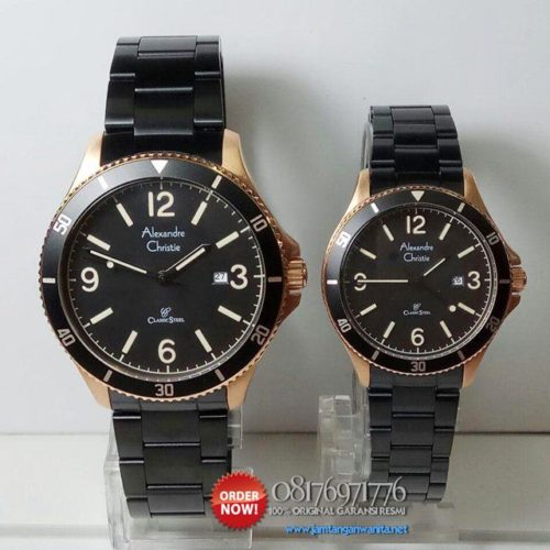 jam tangan couple alexandre christie ac5011