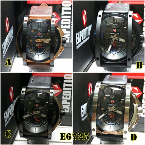 jam tangan expedition e6725 original