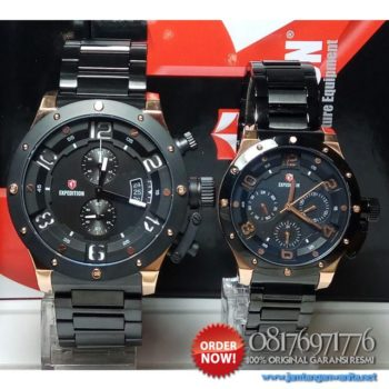 jam tangan expedition e6381 couple original