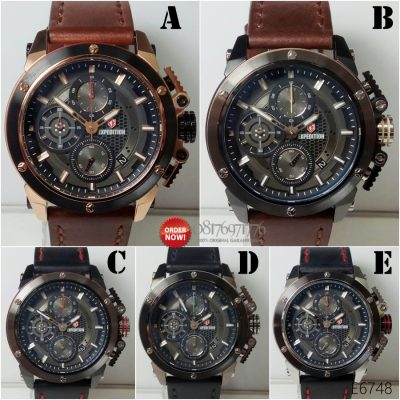 jual jam tangan expedition E6748 original