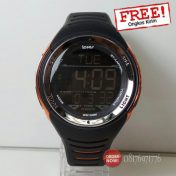 jam tangan digital karet original