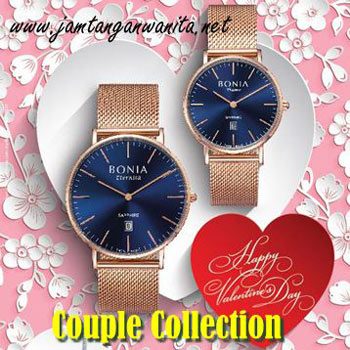 jam tangan bonia couple original